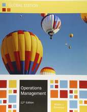 Operations Management: Theory and Practice