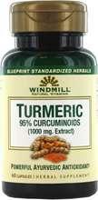 Windmill Turmeric Curcumin 1000 mg 60 stk
