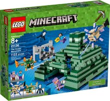 Lego Minecraft sjávar musteri