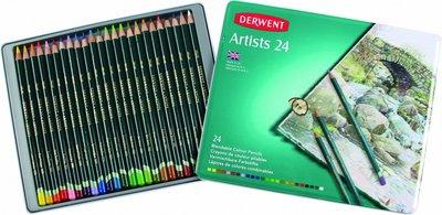 Derwent Artist trélitir, 24 stk
