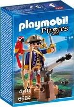 Playmobil Pirates - Sjóræningi með páfagauk