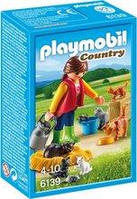 Playmobil Country - Kona með kisurnar sínar