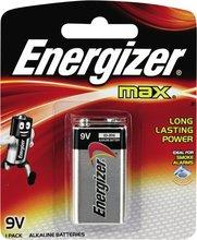 Energizer Max 9V rafhlöður, 1 stk