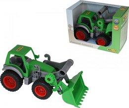 Wader traktor með skóflu
