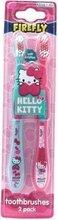 Hello Kitty tannburstar, 2 stk