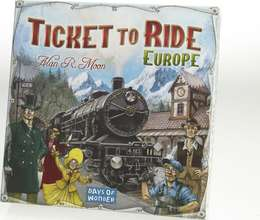 Ticket To Ride - Evrópa