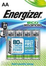Energizer Eco AA rafhlöður, 4 stk