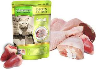 Natures Menu Cat Chicken & Turkey poki - 100gr