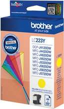 Brother LC223Y gult blekhylki