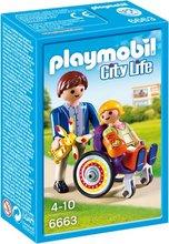 Playmobil City Life - Barn í hjólastól