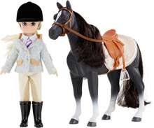 Lottie Pony club hestur ásamt Lottie