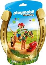 Playmobil Country - Barn á hesti m/blóm