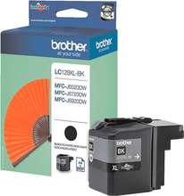 Brother LC129XLBK svart XL blekhylki