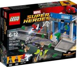 Lego SH Spider-Man stöðvar bankaræningja