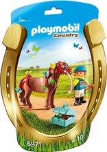 Playmobil Country - Barn á brúnum hesti