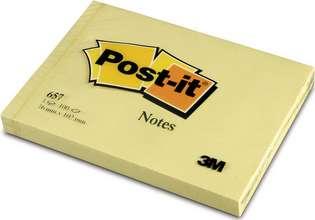 Post-it minnismiðar 76 x 102mm