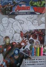 Avengers litasett
