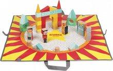 Janod Kubix sirkuskubbar, 60 stk
