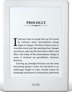 Kindle Paperwhite lesbretti - hvítt