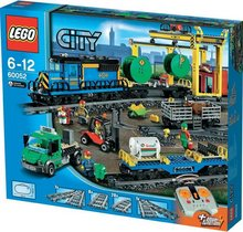 Lego City vöruflutningalest