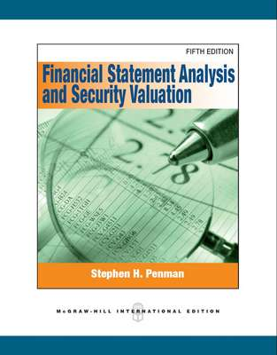 Financial Statement Analysis And Security Valuation  HeimkaupIs