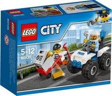 Lego City lögreglu fjórhjól