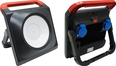 Kelfort LED 50W Vinnuljós með kapli og 2 innstungum