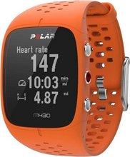 Polar M430 GPS HR æfingaúr - appelsínugult