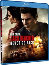 Jack Reacher Never Go Back - Blu Ray
