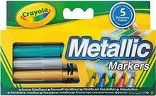 Crayola metallic tússlitir