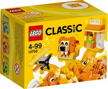 Lego Classic appelsínugult sett