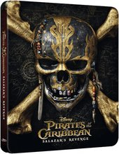Pirates of the caribbean - Salazar's revenge - Stálbox Blu Ray