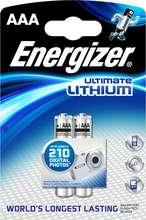 Energizer Ultimate Lithium frostþolnar AAA rafhlöður