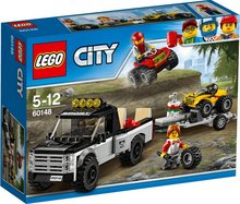 Lego City Fjórhjóla keppni
