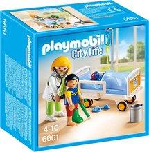Playmobil City Life - læknir og barn