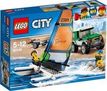 Lego City Seglskúta