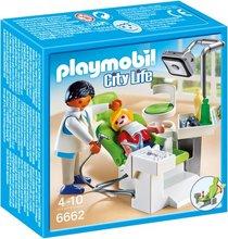 Playmobil City Life - barn hjá tannlækni