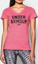 Under Armour CC Tri-Blend Wordmark Stuttermabolur
