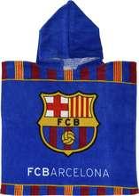 FC Barcelona 02 poncho handklæði