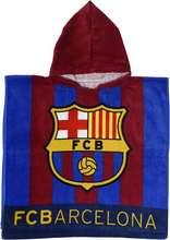 FC Barcelona 03 poncho handklæði