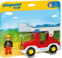 Playmobil 1-2-3 Brunabíll