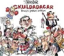 Skuldadagar - hrunið í grófum