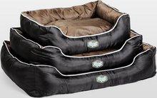 Agui Waterproof Bed black/brown Hundarúm úr vatnsheldu og slitsterku efni - stærð 90x70cm