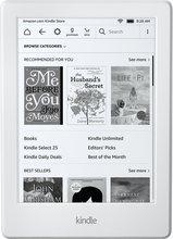 """Kindle 6"""" lesbretti - hvítt"""