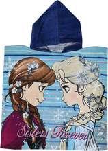 Frozen Sisters Forever poncho handklæði