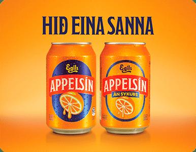Ölgerðin - MINI FPB appelsín