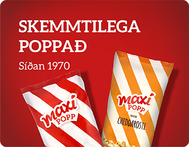 Ölgerðin - MINI FPB Maxi popp