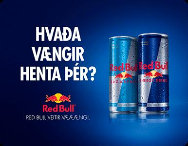 Ölgerðin - Mini FPB Red Bull Hvaða vængir