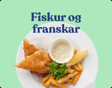 Uppskriftir og hugmyndir - ýsa í raspi