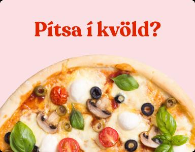 Uppskriftir og hugmyndir - pizza